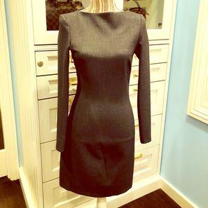 Zara Dark Grey Work Dress - Size 2